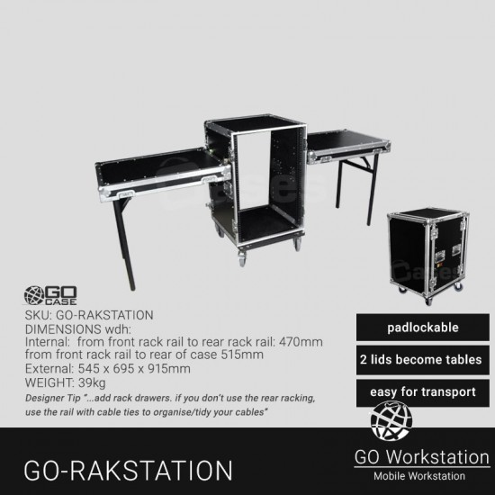 GO Case TABLE RACKS